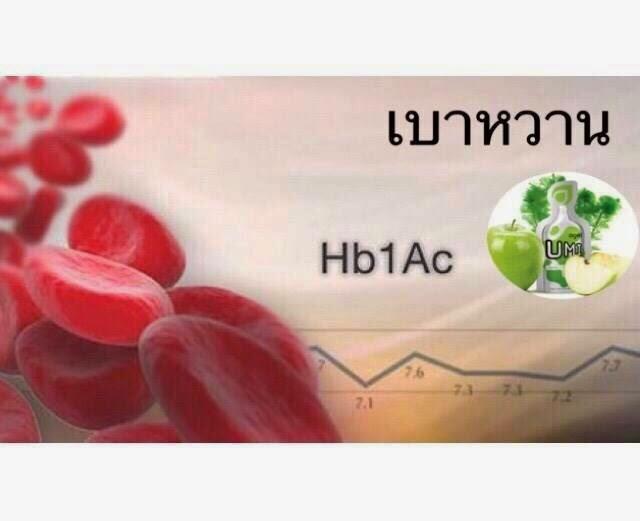 hab1c-น้ำตาลสะสม-umi-รักษาเบาหวาน-umi-agel-อาหารเสริม-อเมริกา